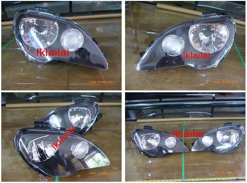 Proton Gen 2 / Persona '05 Head Lamp Crystal Black