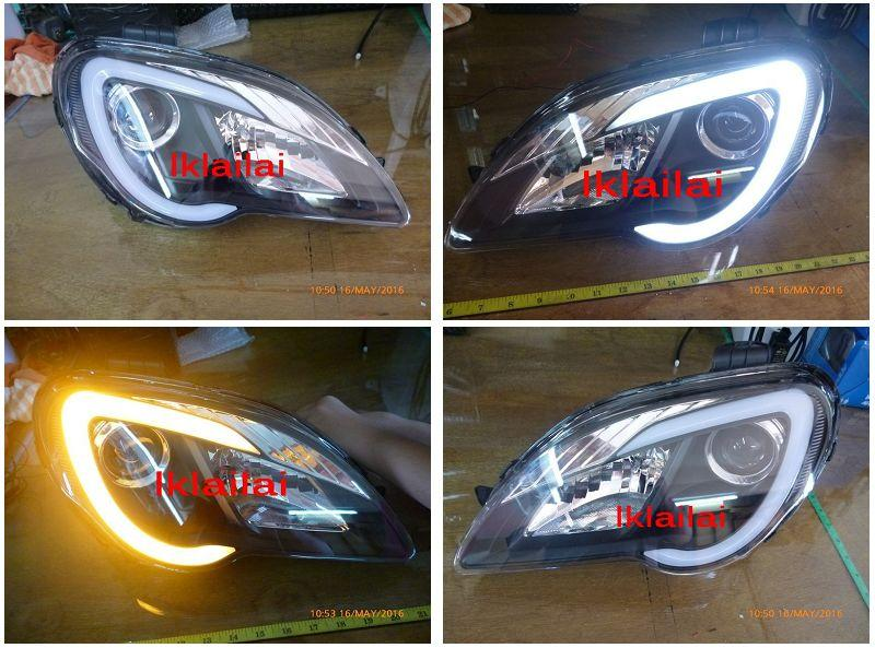 Proton Gen 2 / Persona C Style Light Bar Head Lamp w Signal Function