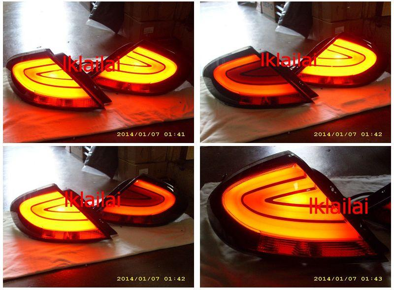 Proton Gen 2 / Persona Tri-Light Bar Tail Lamp Smoke Lens