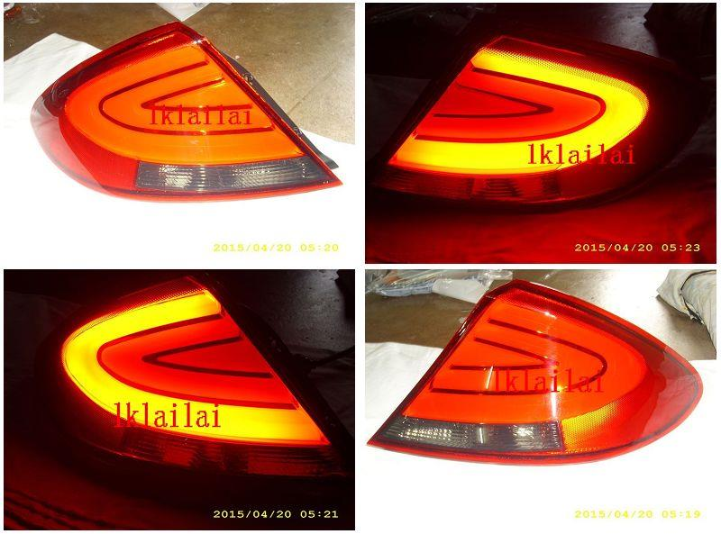 Proton Gen2 / Persona Light Bar Tail Lamp Red Lens