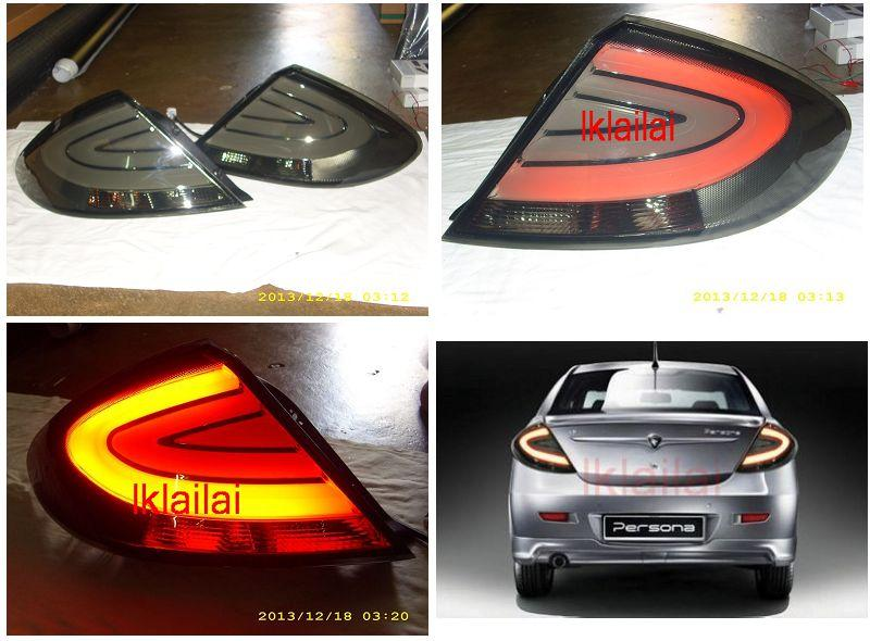 Proton Gen2 / Persona Light Bar Tail Lamp Smoke Lens