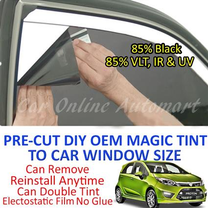 Proton Iriz Magic Tinted Solar Window ( 4 Windows & Rear Window ) 85%