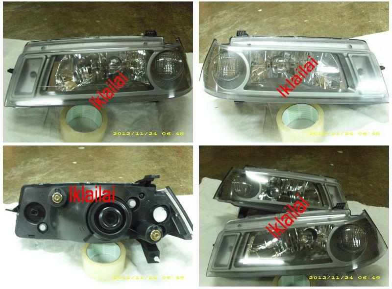 Proton Iswara '04/'06 LMST Original Head Lamp Smoke [Price per side]