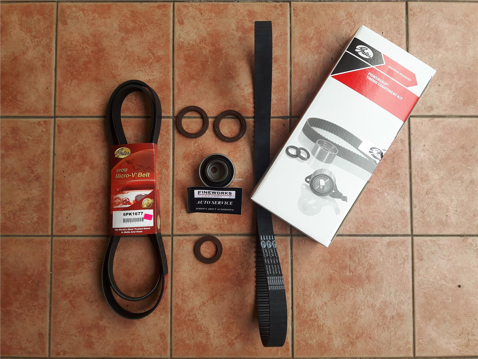 PROTON PERSONA CAMPRO TIMING BELT@V BELT SETS WITH INSTALLATION