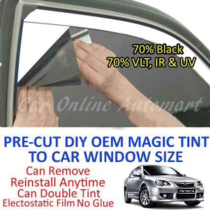 Proton Persona Magic Tinted Solar Window ( 4 Windows ) 70% Black