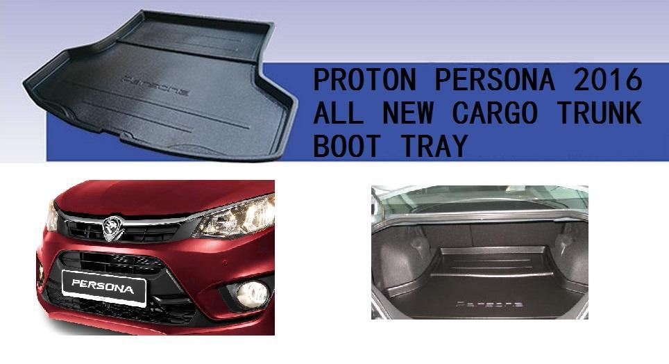 Proton Persona R 2016 Rear Trunk Boot Cargo Tray