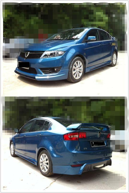 PROTON PREVE bodykit with paint