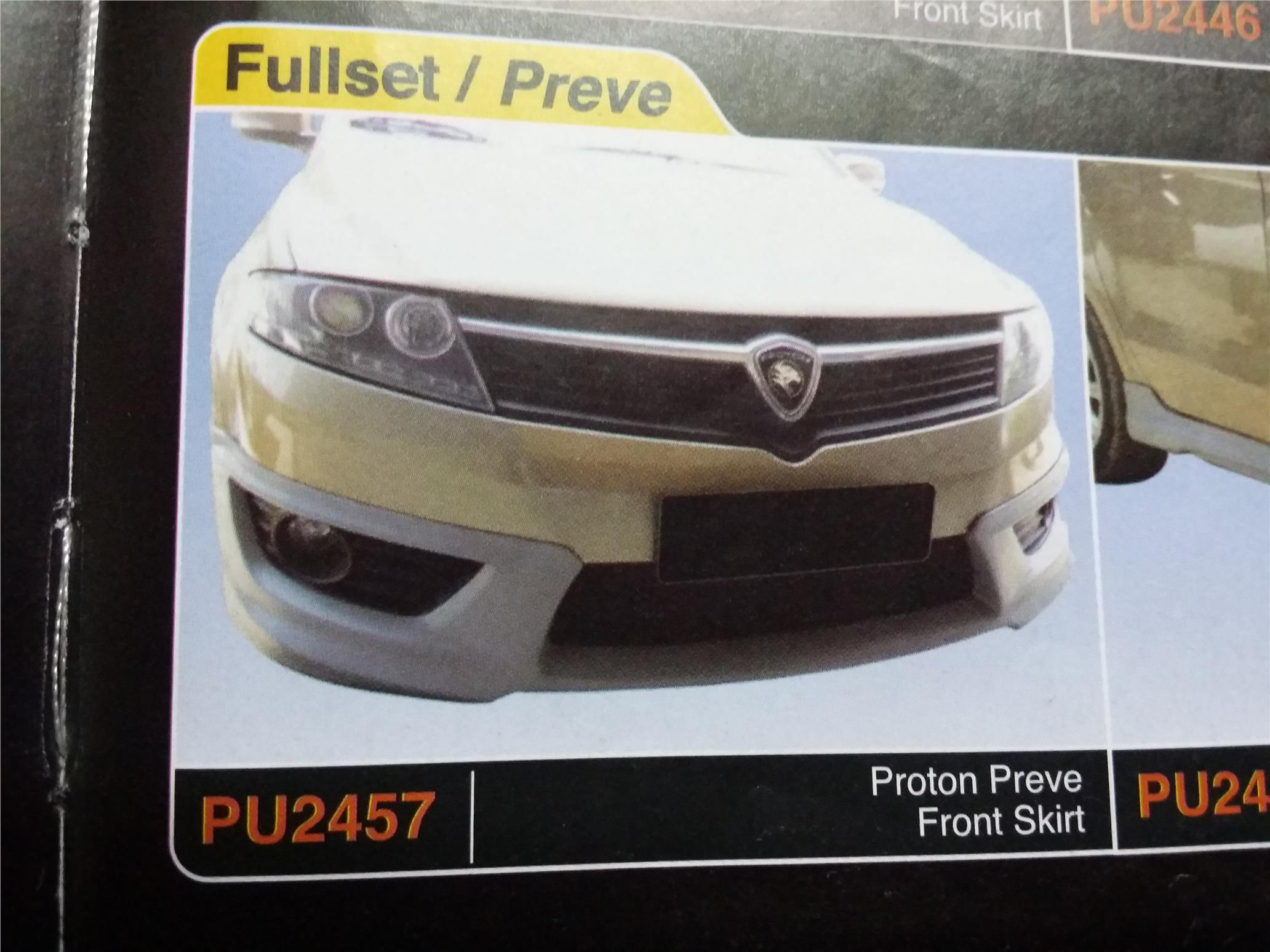 PROTON PREVE FRONT SKIRT PU2457