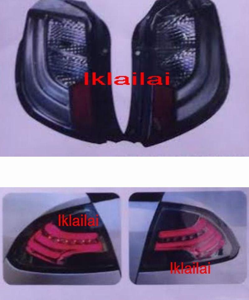 Proton Saga BLM FL FLX / Axia LED Light Bar Tail Lamp [Smoke]