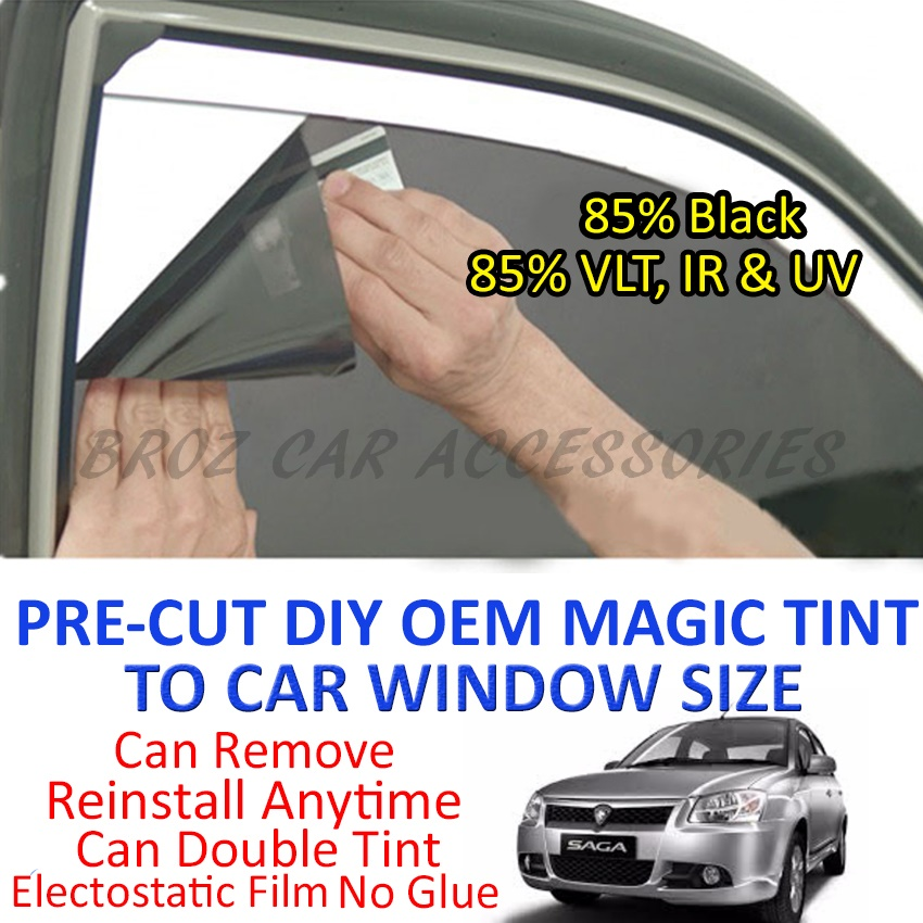 Proton Saga BLM Magic Tinted Solar Window (4 Window & Rear) 85% Black