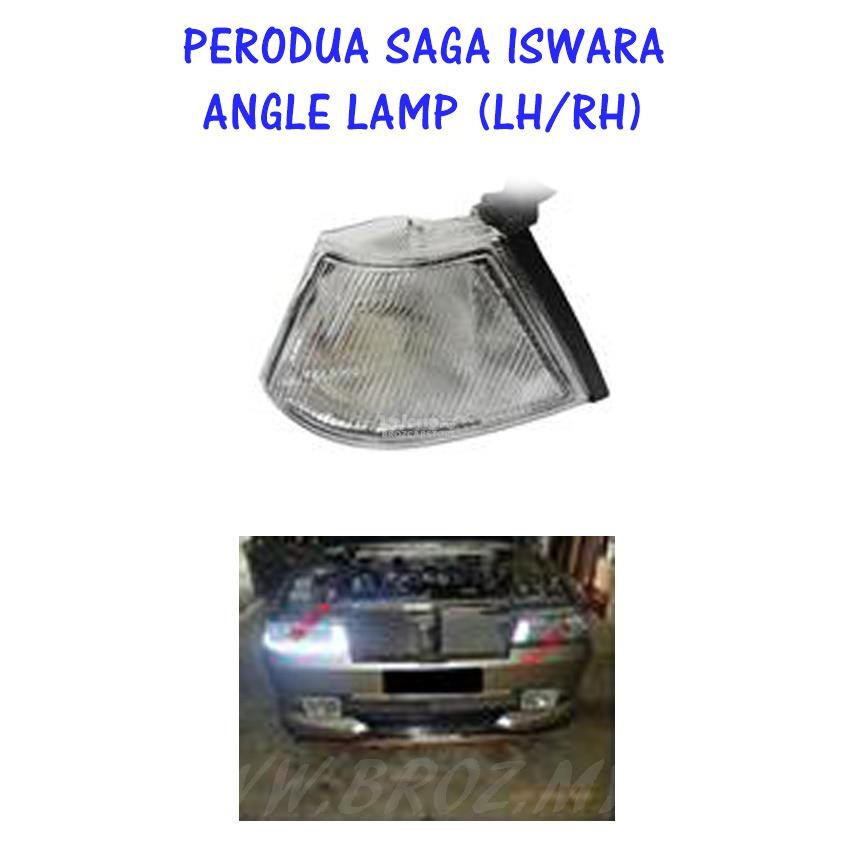 Proton Saga Iswara White Angle lamp/ Parking Lamp/ Signal Lamp Left