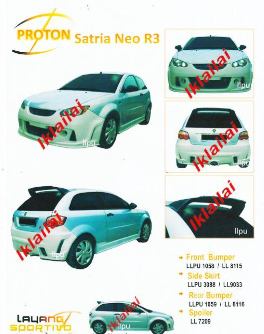 Proton Satria Neo r3 For Sale uk Proton Satria Neo r3 Body Kit