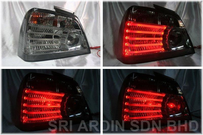 Proton Waja Gci Light Bar Tail Lamp - Full Smoke