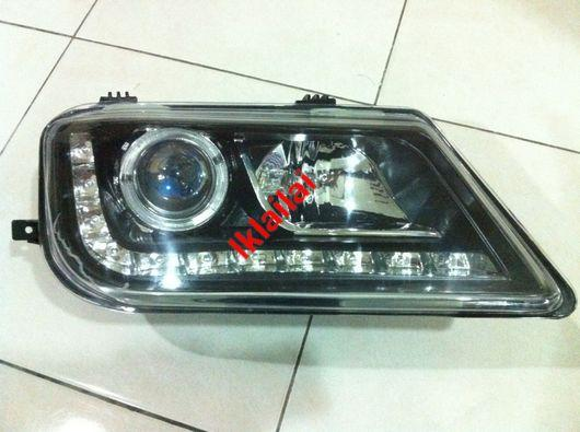 Proton Waja Projector LED Ring Head Lamp Starline [R8 Look]