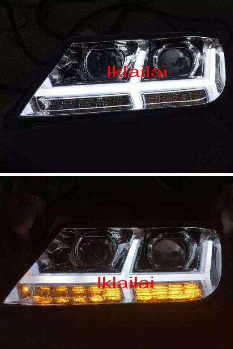 Proton Waja Projector Light Bar + Head Lamp LED Signal