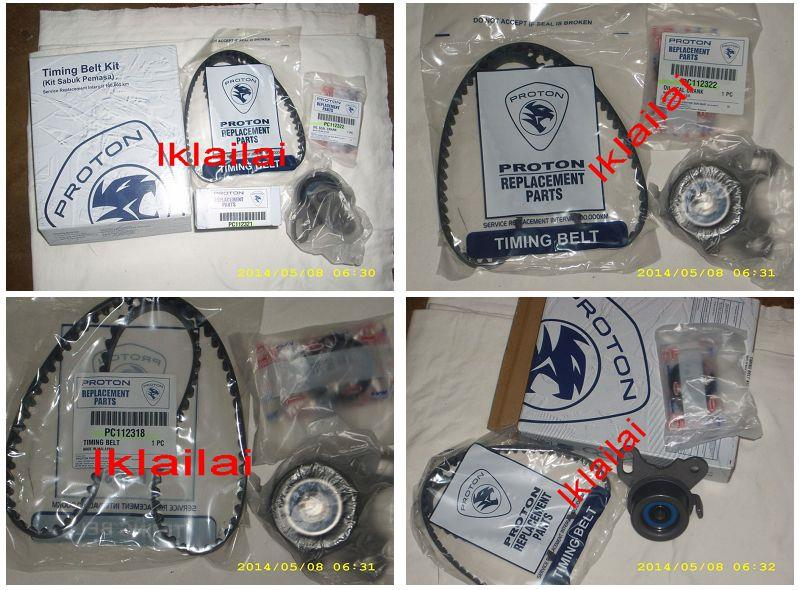 Proton Wira 1.3 / 1.5 / 1.6 / 1.8 Original Timing Belt Set