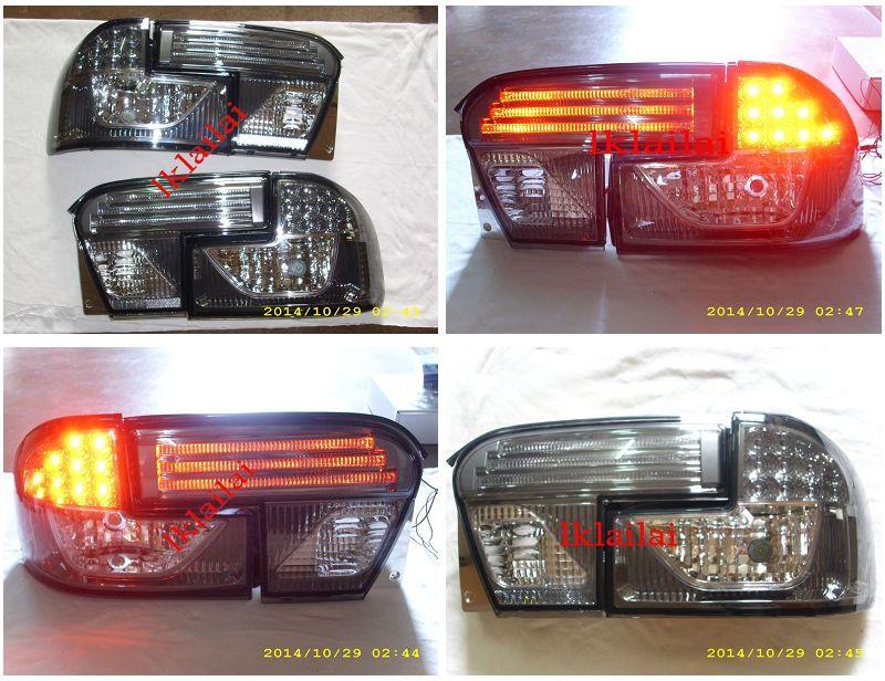 Proton Wira GCI LED Light Bar Tail Lamp [Smoke Lens]