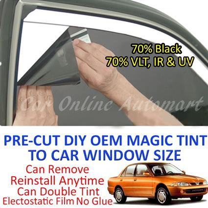 Proton Wira Magic Tinted Solar Window ( 4 Windows & Rear Window ) 70%