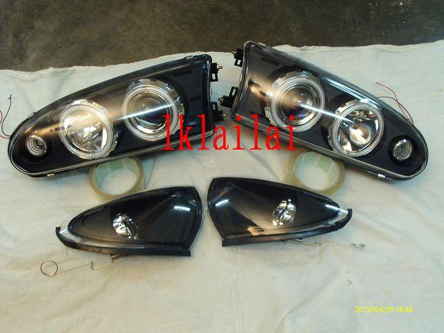 Proton WIRA/SATRIA LED Projector Head Lamp [Glass Lens]