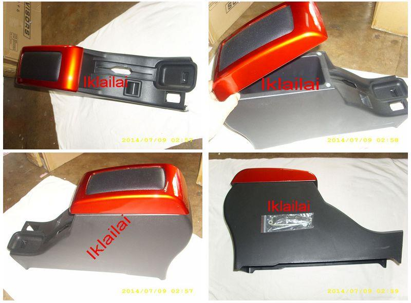 Proton Wira / Satria / Putra Leather Armrest Arm Rest Black & Red