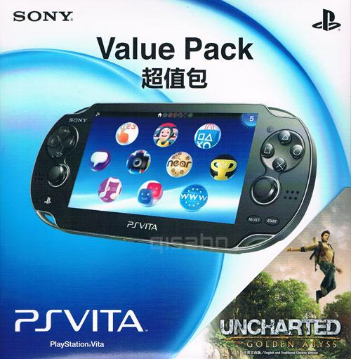 PS VITA 3G + Uncharted: Golden Abyss (Value Pack)