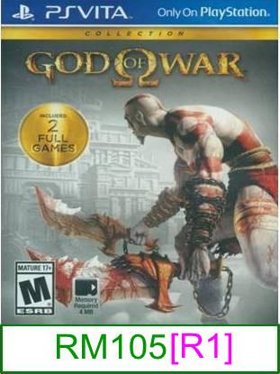 PS VITA God Of War Collection [R1] ★Brand New & Sealed★
