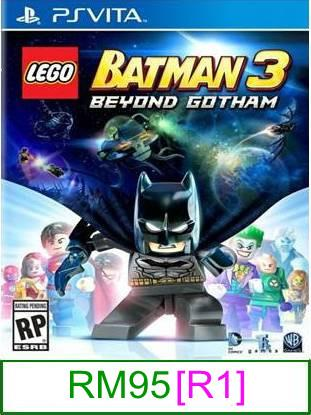 PS VITA LEGO Batman 3 Beyond Gotham [R1] ★Brand New & Sealed&#97..