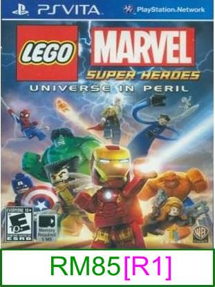 PS VITA LEGO Marvel Super Heroes [R1] ★Brand New & Sealed★