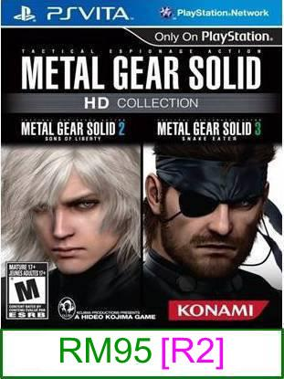 PS VITA Metal Gear Solid HD Edition [R2] ★Brand New & Sealed&#97..