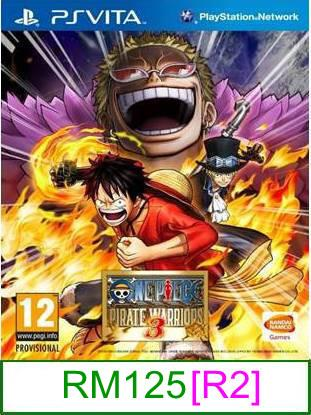 PS VITA One Piece Pirate Warriors 3 [R2] ★Brand New & Sealed&#97..