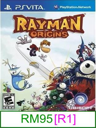 PS VITA Rayman Origins [R1] ★Brand New & Sealed★