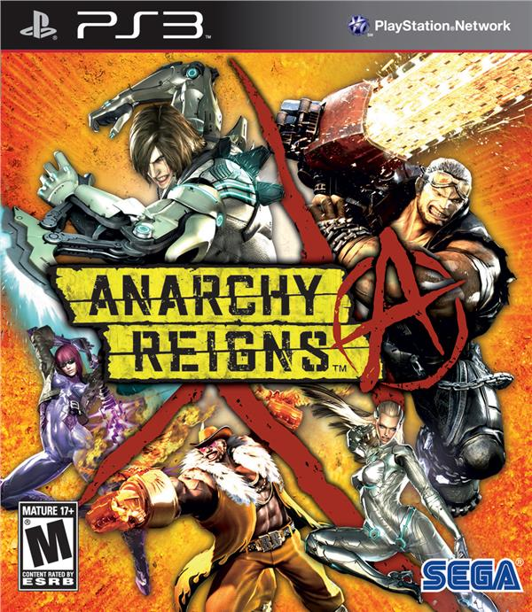 PS3 Anarchy Reigns (R1)(EN)
