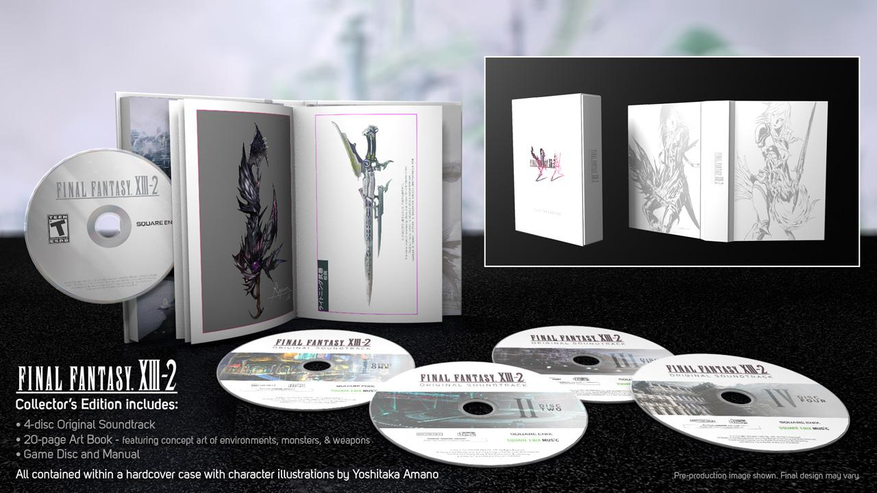 PS3 Final Fantasy XIII-2 Collector's Edition
