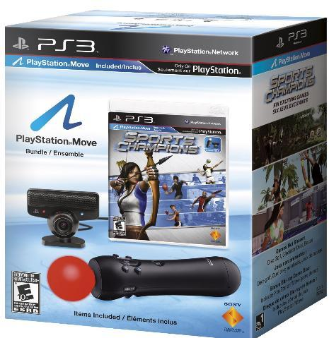 Playstation Move Bundle With Sports Champions