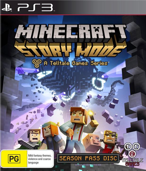 Ps3 Minecraft:Story Mode
