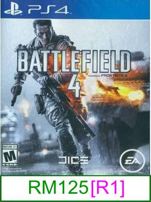 PS4 Battlefield 4 [R1] ★Brand New & Sealed&#