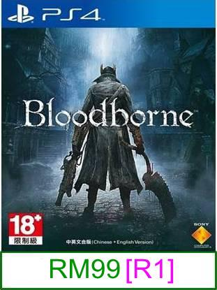 PS4 Bloodborne [R1] ★Brand New & Sealed★