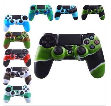 PS4 Controller Silicone Gel Rubber Case Skin Grip