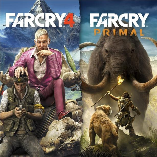 PS4 FAR CRY PRIMAL + FAR CRY 4 DOUBLE PACK [R2] NEW & SEALED