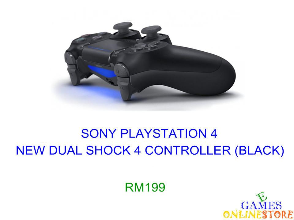PS4 New Dual Shock 4 Controller (Black) ★Brand New & Sealed&#973..
