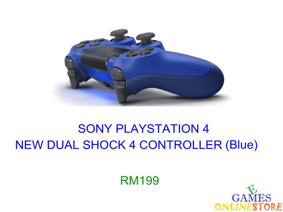 PS4 New Dual Shock 4 Controller (Blue) ★Brand New & Sealed&#9733..