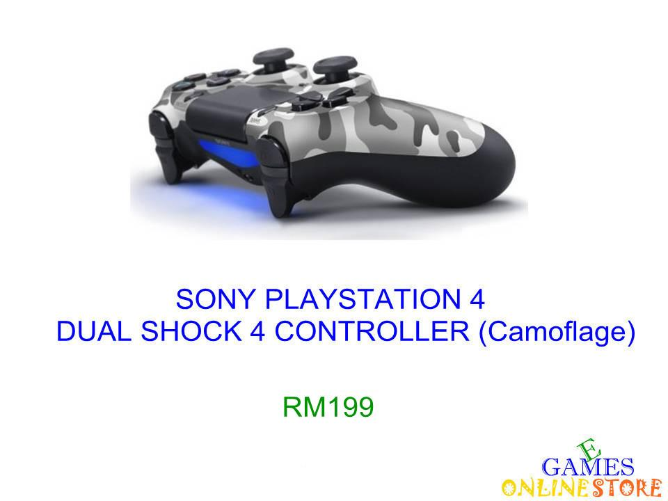 PS4  Dual Shock 4 Controller (Camoflage) ★Brand New & Sealed&#97..