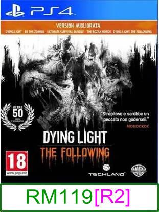 PS4 Dying Light The Following: Enhanced Edition [R2]