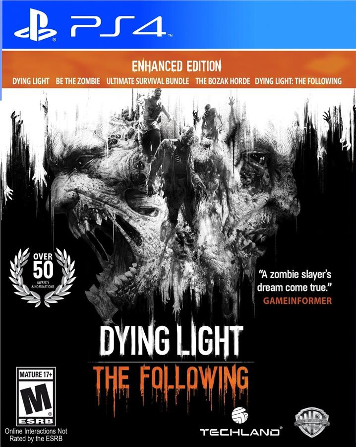 PS4 DYING LIGHT THE FOLLOWING ENHANCED EDITRION R3