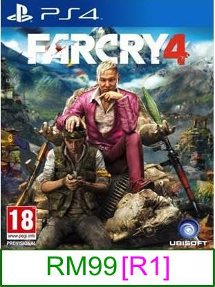 PS4 FarCry 4 [R1] ★Brand New & Sealed★