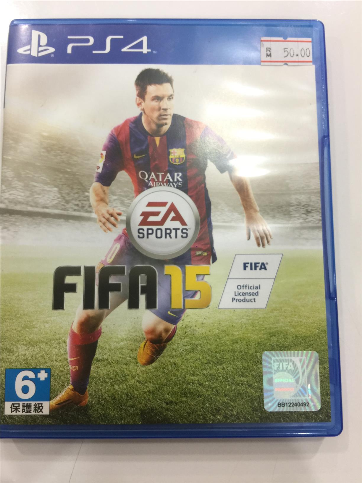 PS4 Fifa 2015 (USED)