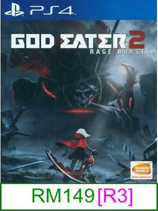 PS4 God Eater 2 Rage Burst [R3] ★Brand New & Sealed★
