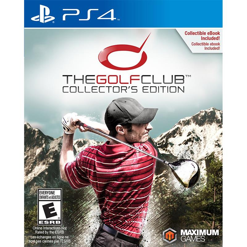 PS4 The Golf Club : Collector's Edition