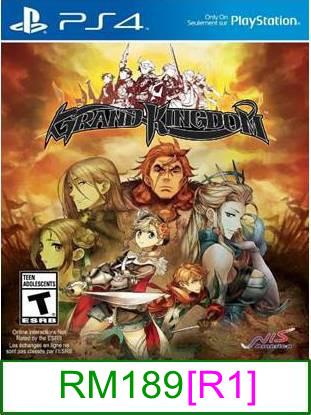 PS4 Grand Kingdom [R1] ★Brand New & Sealed★