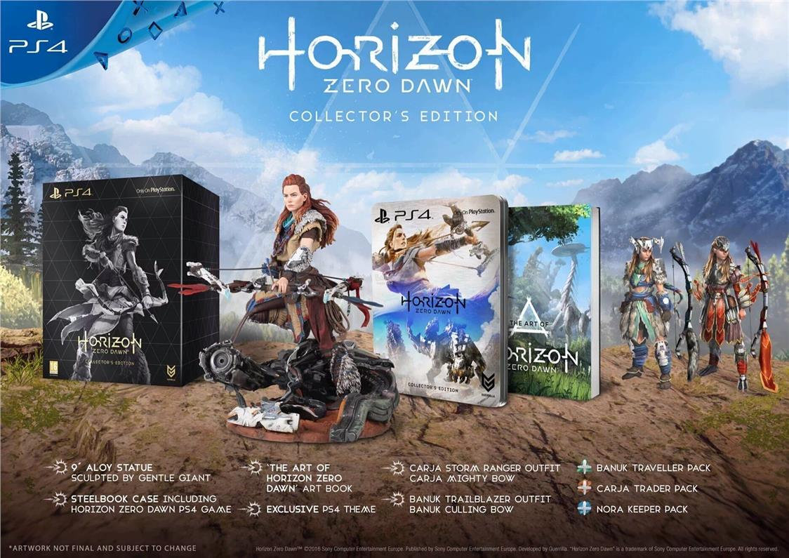 PS4 Horizon Zero Dawn Collector Edition R3 ENG 28/02/2017